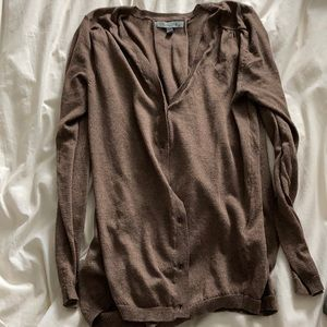 3/$20 Brown cardigan, size small